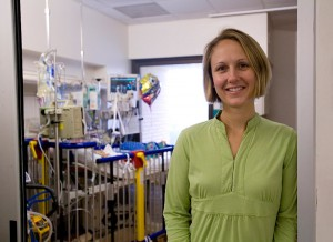 """In private practice you may be able to take great care of patients, but you're not in a position to push the envelope at all to try and come up with new therapies,"" said Amy Smith, MD, a UF assistant professor of pediatric oncology who came here in 2003 to revitalize the department's neurooncology program."