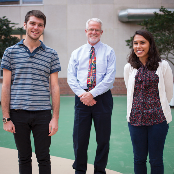 First-year UF medical students Ryan St. Pierre-Hetz and Amber Himmler will travel with pediatrics professor David Wood, MD, to Ecuador this summer to conduct research as part of the college's new Discovery Pathways Program.