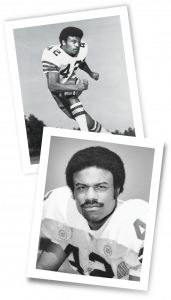 Joe Camps, MD '82, during his Seminole football days.