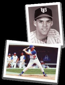 Eric Castaldo during his Gator baseball days.