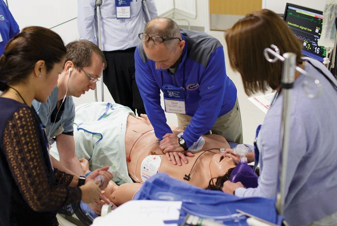 medical emergency simulation